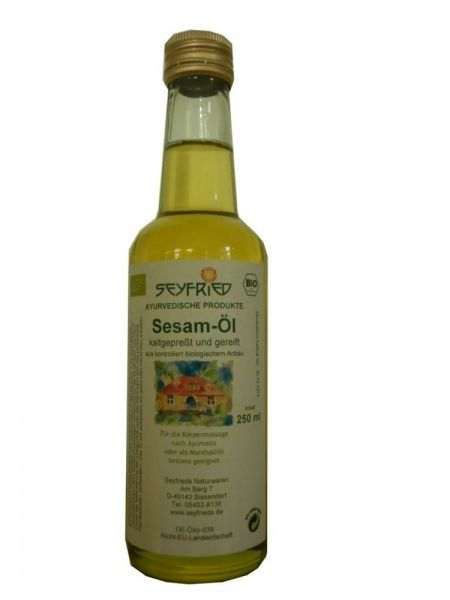 Sesam-Öl kaltgepresst&gereift Lebensmittel