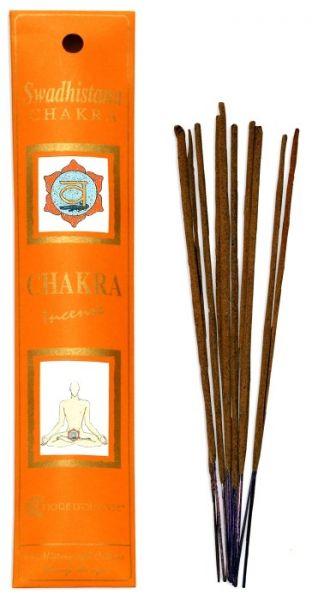 Swadhisthana Chakra Incense 10 Stk