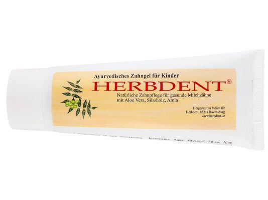 Herbdent Ayurvedisches Zahngel für Kinder