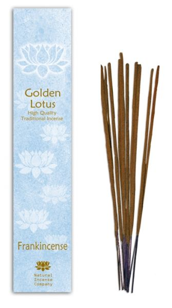 Frankincense - Golden Lotus Incense 10 Stk
