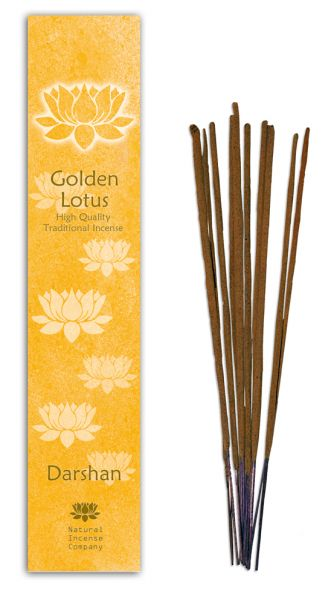 Darshan - Golden Lotus Incense 10 Stk