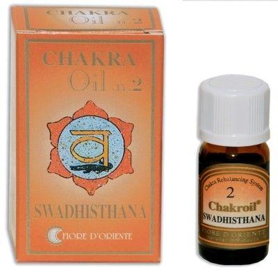 Swadisthana Chakra oil