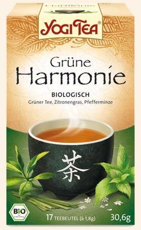 Yogi Tee Grüne Harmonie 17 Btl.