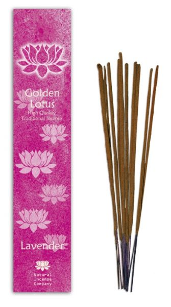 Lavender - Golden Lotus Incense 10 Stk