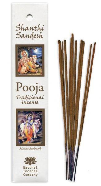 Shanthi Sandesh - Pooja Incense 10 Stk