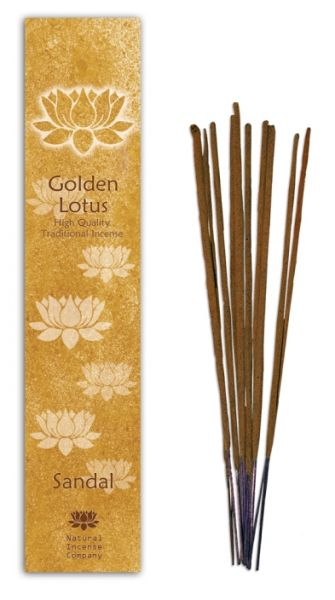 Sandal - Golden Lotus Incense 10 Stk