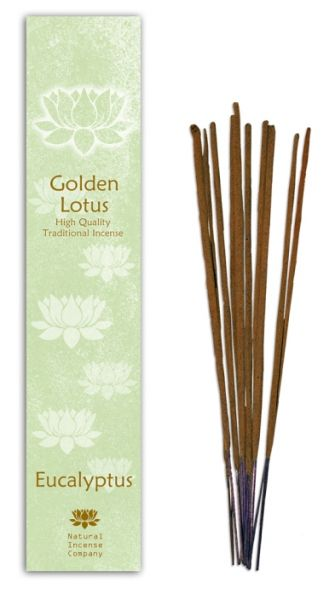 Eucaliptus - Golden Lotus Incense 10 Stk