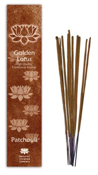Patchouli - Golden Lotus Incense 10 Stk