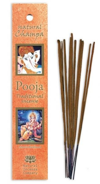 Natural Champa - Pooja Incense 10 Stk