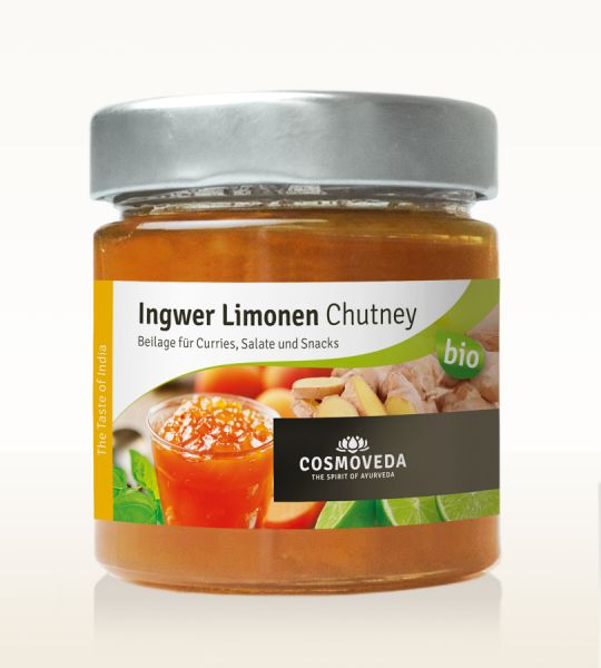 Ingwer Limonen Chutney