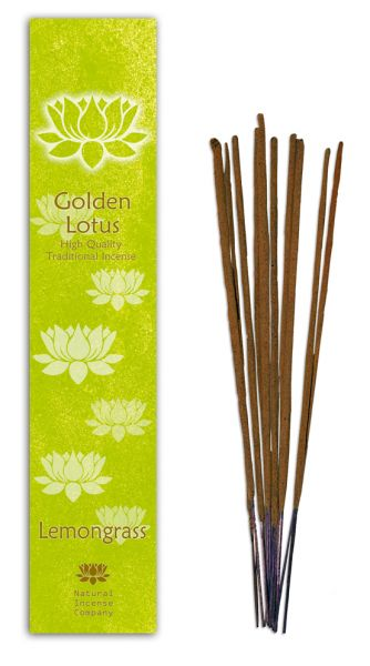 Lemongrass - Golden Lotus Incense 10 Stk
