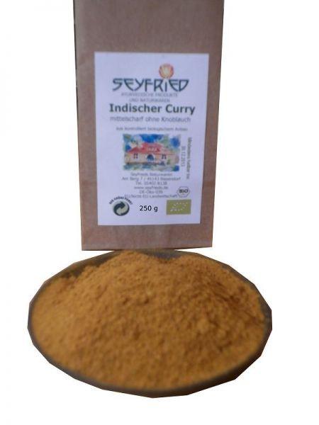 Indischer Curry mittelscharf
