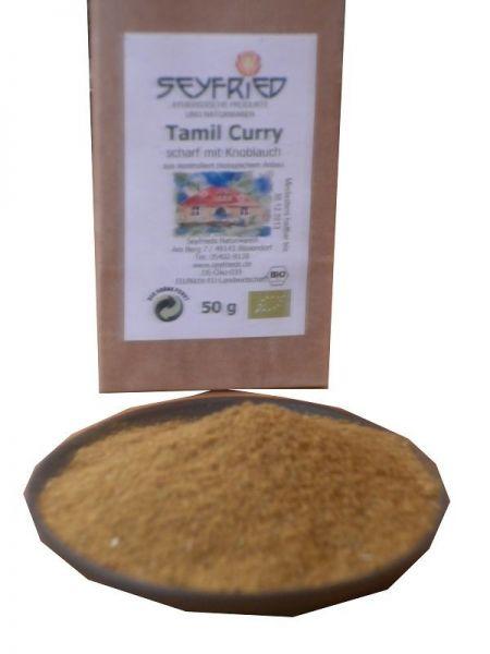 Tamil Curry, mittelscharf mit Knoblauch