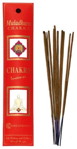 Muladhara Chakra Incense 8 Stk