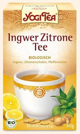 Yogi Tee Ingwer Zitrone 17 Btl.