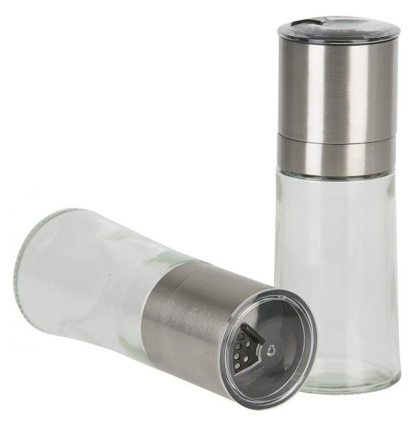 Gewürzmühle 59/158mm in Glas/Edelstahl Keramikmahlwerk