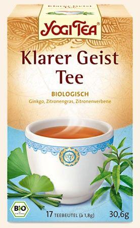 Yogi Tee Klarer Geist 17 Btl.