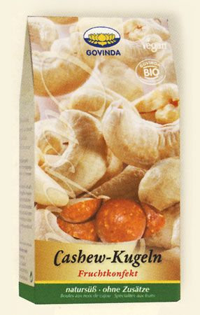 Cashew-Kugeln