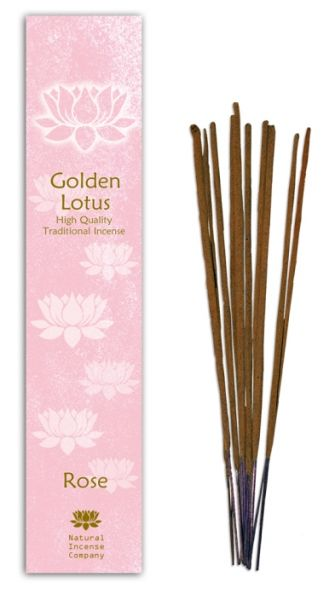 Rose - Golden Lotus Incense 10 Stk