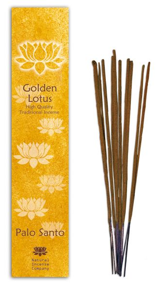 Palo Santo - Golden Lotus Incense 10 Stk