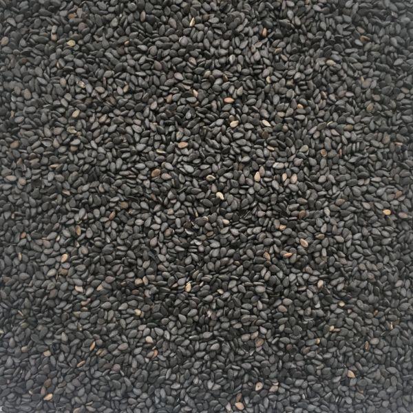 Sesam schwarz ungeschält