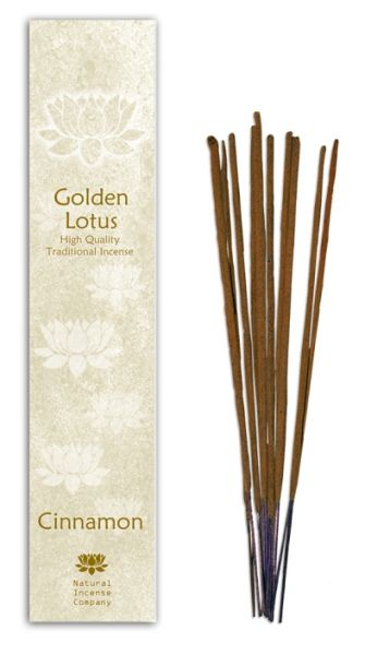 Cinnamom - Golden Lotus Incense 10 Stk