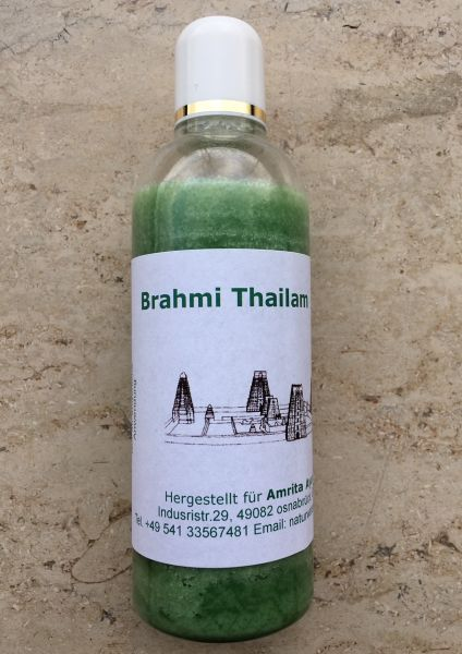 Amrita Brahmi Thailam auf Sesamölbasis